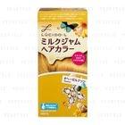 Mandom - Lucido-L Creamy Milk Hair Color (Hazelnut) 1 set 1596