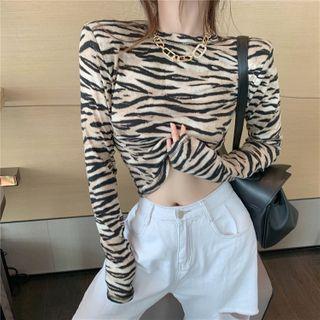 Long-sleeve | T-Shirt | Zebra | Print