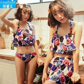 Set: Printed Tankini + Swimshorts 1057765978