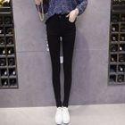Elastic Skinny Pants 1596