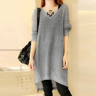 Ribbed Knit Dress 1053938305
