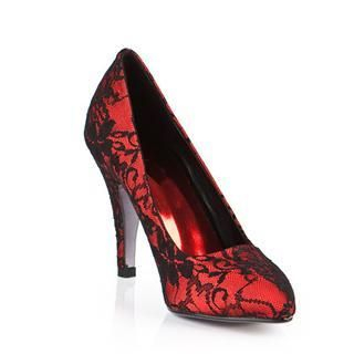 Buy Cocoeve Laced Patent Leather Pumps 1022364255