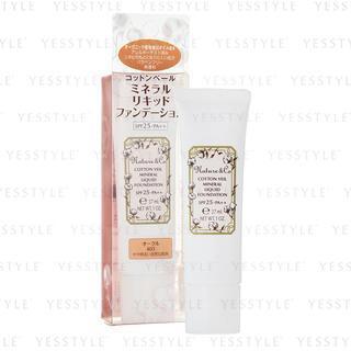 Kose - Nature & Co Cotton Veil Mineral Liquid Foundation SPF25 PA++ #405 30g