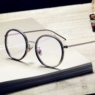 Stainless Steel Round Glasses 1064466431