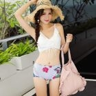 Set: Tankini + Lace Top + Swim Shorts 1596