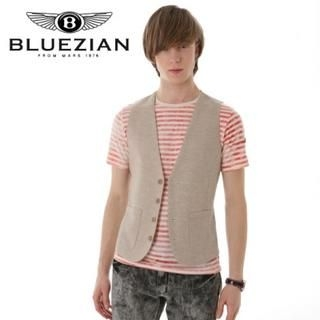 Buy BLUEZIAN Linen Vest 1022588165