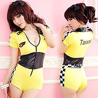 Racing Girl Party Costume 1048789721