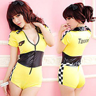 Racing Girl Party Costume 1596