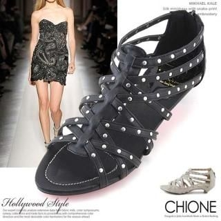 Buy Chione Studded Gladiator Sandals 1022552504