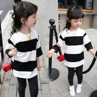 Kids Striped 3/4-Sleeve T-Shirt 1057455289