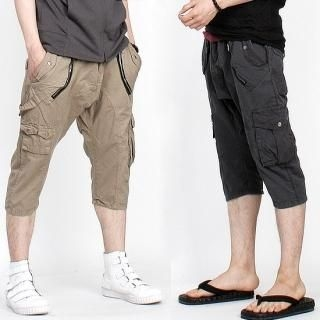 Buy Peeps Calf-Length Zipped Cargo Pants 1022944672