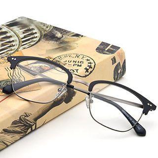 Retro Half Frame Glasses Frame 1052685162
