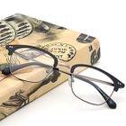 Retro Half Frame Glasses Frame 1596