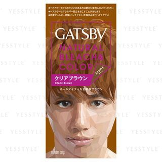 Mandom - Gatsby Natural Bleach & Color (Clear Brown) 1 set 1030464021