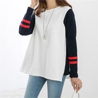 Color-Block Pullover 1061908992