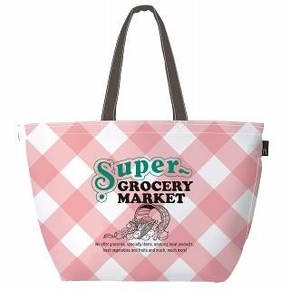 Buy ROOTOTE Check Tote Bag [ROOTOTE Thermo-Keeper GRANDE - STORES-A] Pink – One Size 1022238724