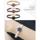 Swarovski Crystal Faux-Leather Bracelet 1596