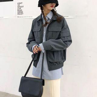 Image of Zip Utility Jacket