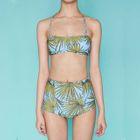 Leaf Print Bikini 1596