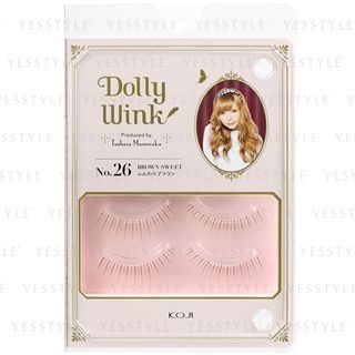 Koji - Dolly Wink Eyelash (#26 Brown Sweet) 2 pairs 1053717320