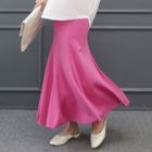 Band-Waist Long Mermaid Skirt 1596