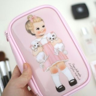 """Paper Doll Mate"""" Series Cosmetic Pouch - (S) 1049421625"""