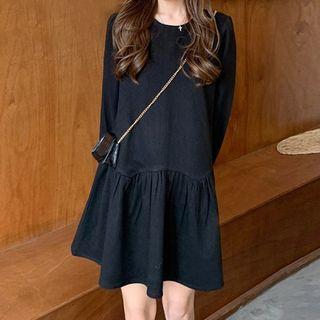 Long-sleeve   Babydoll   Dress