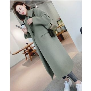Notched Lapel Coat 1062253468