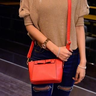 Bow-Accent Cross Bag