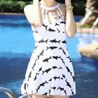 Shark Print Swimdress 1596