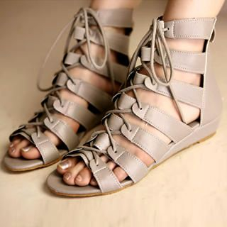 Buy Kvoll Gladiator Lace-Up Sandals 1022741516