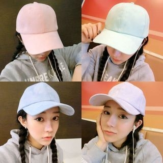 Faux-Suede Baseball Hat 1057549704