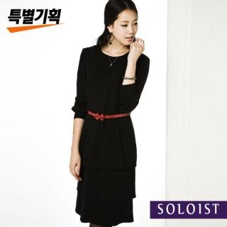 Buy Soloist Long-Sleeve Layered Dress 1023048074