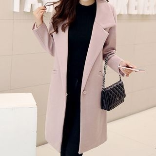 Notched Lapel Coat 1053703325