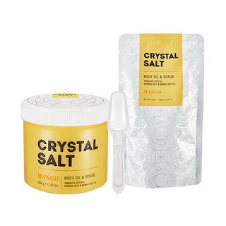 Crystal Salt Body Oil & Scrub (Mango)