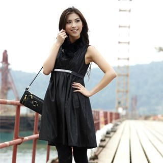 Picture of 19th Street Sleeveless Empire Dress 1021736423 (19th Street Dresses, Womens Dresses, China Dresses, Sleeveless Dresses)