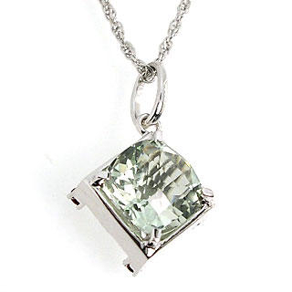 Picture for Green Amethyst Versatile Pendant - United states