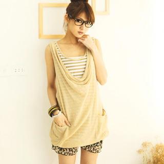 Buy CatWorld Inset Striped Tank Top Jumper Dress 1022763916