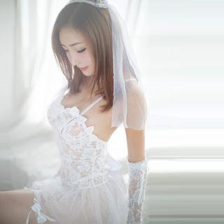 Costume   Bride   White   Size   One   Set