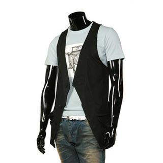 Buy Purplow Buttoned Vest 1010963460