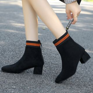 Stripe | Point | Block | Short | Boot | Heel