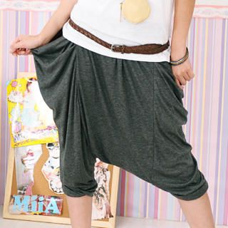 Picture of 59 Seconds Drape-Pocket Cropped Harem Pants 1023057009 (Womens Cropped Pants, 59 Seconds Pants, Hong Kong Pants)