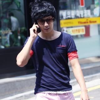 Buy Hwang Kum Style Round Neck T-Shirt 1022994760