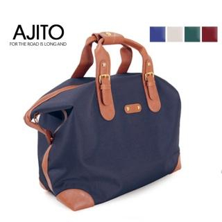 Buy AJITO Faux-Leather Trim Canvas Tote 1021534221