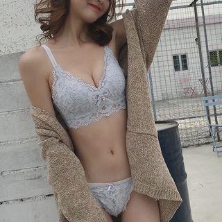 Set: Lace Bra + Panties 1064933281