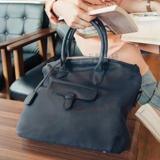 Flap-Detail Shoulder Bag