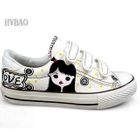 Girl  Boy Print Velcro Canvas Sneakers от YesStyle.com INT