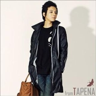 Picture of TAPENA Zipup Long Jacket 1022113283 (TAPENA, Mens Outerwear, Korea)