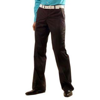 Buy Purplow Piped Pants in Black 1004639765
