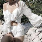 Set : Frilled Bikini + Cover-up 1596